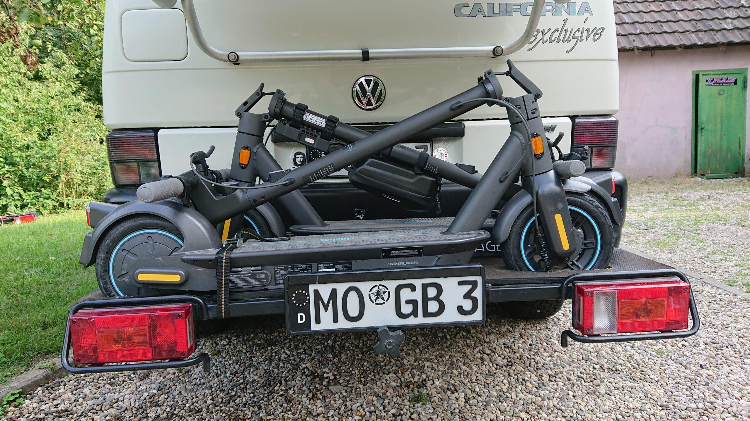 e-scooter Träger